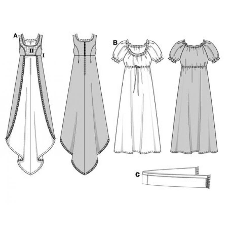 Платье ампир своими руками
