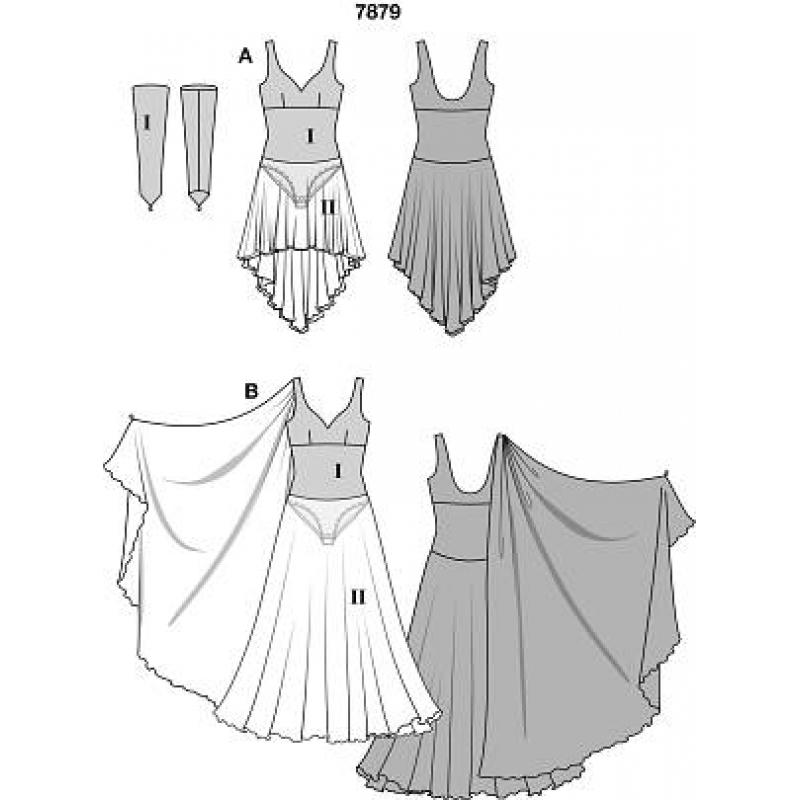 Шьем платье своими руками для танцев 7