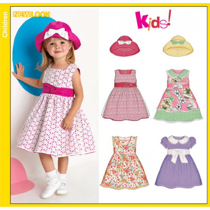 Schnittmuster Kleid Kind
