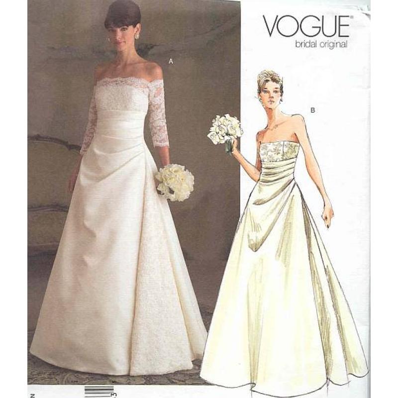 Ausgezeichnet Vintage Hochzeitskleid Muster Zu Nähen Bilder ...