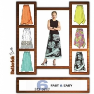 sewing pattern Butterick 4803 Skirt