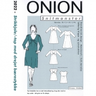Sewing Pattern Onion 2022 dress siize XS-XL