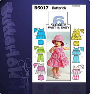sewing pattern Butterick 5017 Combi