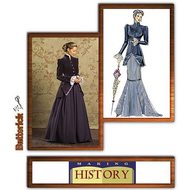 sewing pattern Butterick 4954 History