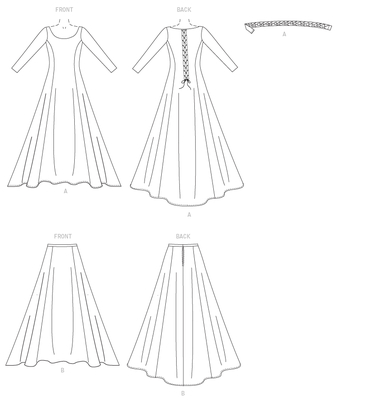 sewing pattern Butterick 4827 Dress