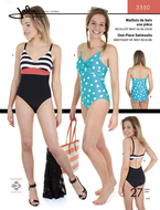 sewing pattern Jalie 3134 Racerback Swimsuit