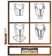 sewing pattern Butterick 4669 Corset