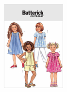 sewing pattern Butterick 4176 Childrens