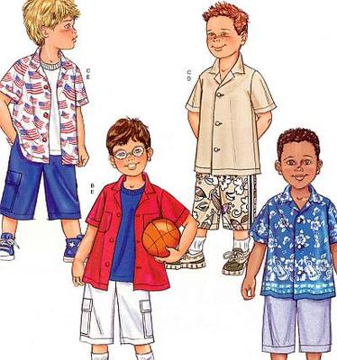 sewing pattern Butterick 3475 Childrens
