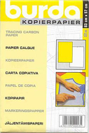 Burda Copypaper white/yellow