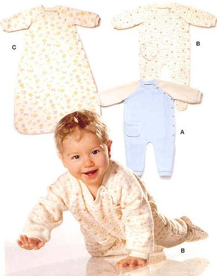 Sewing pattern Burda 9782 Baby Size 62-92