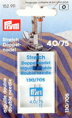 Prym 154913 Doppel-STRETCH 75/4,0mm