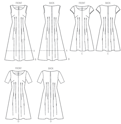 Sewing pattern McCalls 6958 Dresses