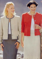 Sewing pattern Burda 8949 Jacket Size 34-46