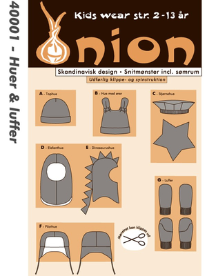 discard, stock 1: sewing pattern Onion 40002 Carnival