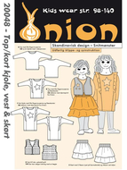 Sewing Pattern Onion 20048 dress size 104-140