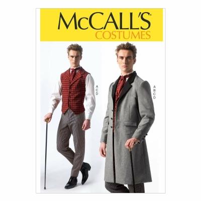 a719f3aded96 Schnittmuster McCalls 7003 Cosplay wie Sherlock Holmes Gr. S-XXL 34-52 ...