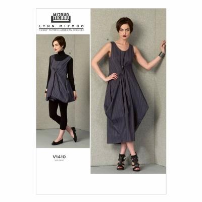 Schnittmuster Vogue 1410 Damenkleider bei Schnittmuster.Net ...