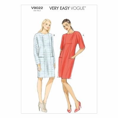 Schnittmuster Vogue 9022 Kleid bei Schnittmuster.Net - Schnittmuster ...