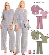 Sewing pattern Burda 8108 Combi Size 44-60