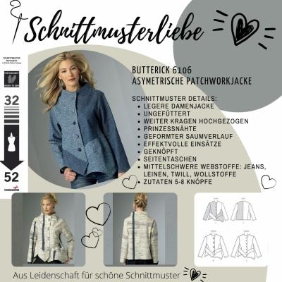 Schnittmuster für Jacken und Mäntel Damen Plussize - Schnittmuster.Ne