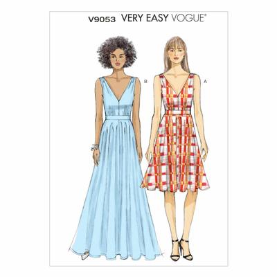 Schnittmuster Vogue 9053 Kleid bei Schnittmuster.Net - Schnittmuster ...
