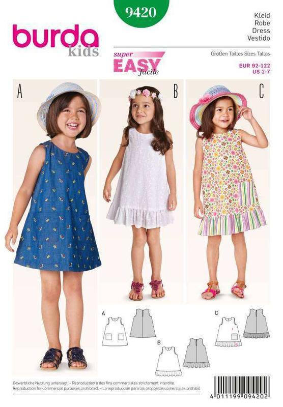 Kleid schnittmuster 122
