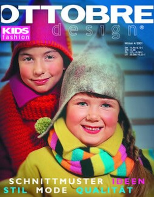 anderssprachige Zeitschrift Ottobre design 04/2001 Kids Winter