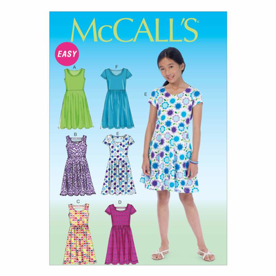 Schnittmuster McCalls 7079 Kleid bei Schnittmuster.Net ...