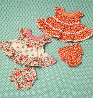Schnittmuster KwikSew 0198 Babykleid bei Schnittmuster.Net ...