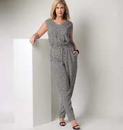 Schnittmuster Butterick 6224 Sommeroverall Gr. RR 18W-24W...