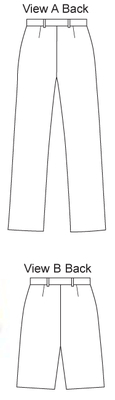 Schnittmuster KwikSew 3363 Hose Gr. XS-S-M-L-XL 4-22 (30-48)