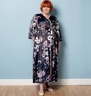 Schnittmuster Butterick 6300 Negligee, Morgenmantel Gr....