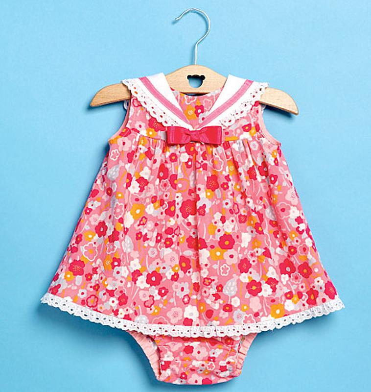 Schnittmuster KwikSew 0214 Babykleid bei Schnittmuster.Net ...