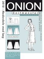 Sewing Pattern Onion 3018 Skirt Size 34-46