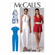 Schnittmuster McCalls 7366 Overall Gr. 32-48