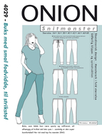 Sewing Pattern Onion 4029 Pants Size 34-46