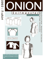 Sewing Pattern Onion 5003 Blouse Size XS-S-M-L-XL