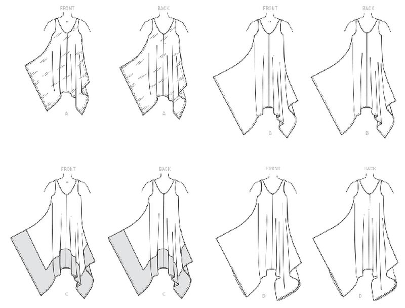 mccalls 7402 sommerkleider bei schnittmuster net schnittmuster net schnitte hefte stoffe. Black Bedroom Furniture Sets. Home Design Ideas