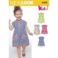 61-86 cm Baby S-XXL Schnittmuster KwikSew 0198 Babykleid Gr