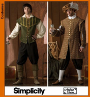 German sewing pattern Simplicity 7032 Costumes
