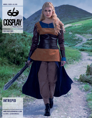 Schnittmuster McCalls 2051 Cosplay wie Game of Thrones Daenerys Targaryen Gr. 32-52