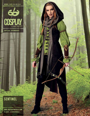 Schnittmuster McCalls 2080 Cosplay Kostüm Sentinel bei Schnittmuster ...