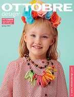 German Magazine Ottobre Design 01/2017 kids spring