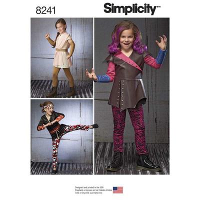 Schnittmuster Simplicity 8241 Kinderkostüm bei Schnittmuster.Net ...