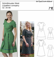 Schnittmuster pattern company 02-860 Damenkleid,...
