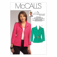 Sewing pattern McCalls 5668 Jacket