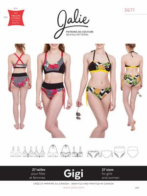 Schnittmuster Jalie 3671 Gigi Bikinis bei Schnittmuster.Net ...