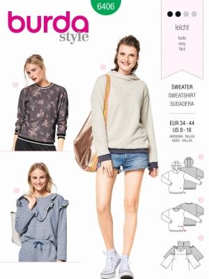 Schnittmuster Pullover | Pullover und Cardigan Schnitte von