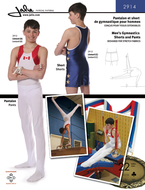Sewing pattern Jalie 2914 gymn sizes 2-13 (92-155) and XS-XL